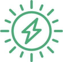 ikoon zonne-energie